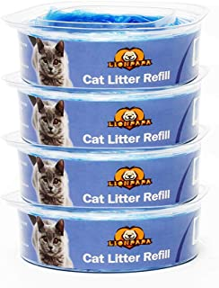 LIONPAPA Cat Litter Refills for Litter Genie Standard and Litter Genie Plus Pail Disposal System