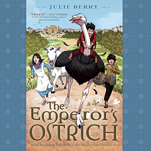The Emperor's Ostrich audiobook cover art