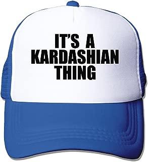 P-Jack Adults Unisex Adjustable Original Custom Made Snapback Cap Hat Cotton Kim Kardashian Thing Motorcycle Cap RoyalBlue