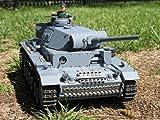 Heng Long 1:16 RC German Panzer Kampfwagen III Remote Controlled Battle Tank