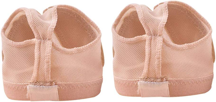 LIOOBO Ballet Belly Dance Foot Thong Dance paw Shoes Half Sole Size S
