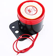 COMOK BJ-1 2 Wire Leads Continuous Sound Electronic Piezo Buzzer Alarm Security Horn AC 220V for Home and Industry