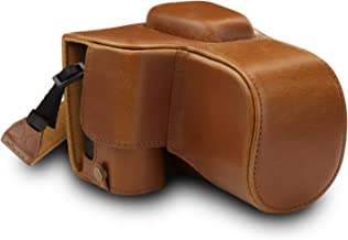 MegaGear Ever Ready Leather Camera Case Compatible with Nikon D3500