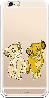 Funda para iPhone 6 Oficial de Disney Simba y Nala jugando - El