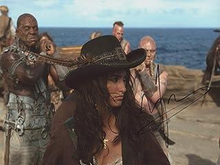 Penelope Cruz Pirates of The Caribbean ON Stranger Tides signerad 12 x 8 foto IMG06 autentisk + COA