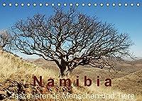 Namibia - faszinierende Menschen und Tiere (Tischkalender 2022 DIN A5 quer): Menschen und Tiere Namibias - faszinierende, fremde Ansichten (Monatskalender, 14 Seiten )