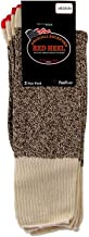 Fox River Original Rockford Red Heel Cotton Monkey Sock Brown Tweed Medium - Pack of 2