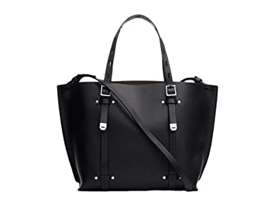 rag & bone Mini Field Tote (Black) Handbags