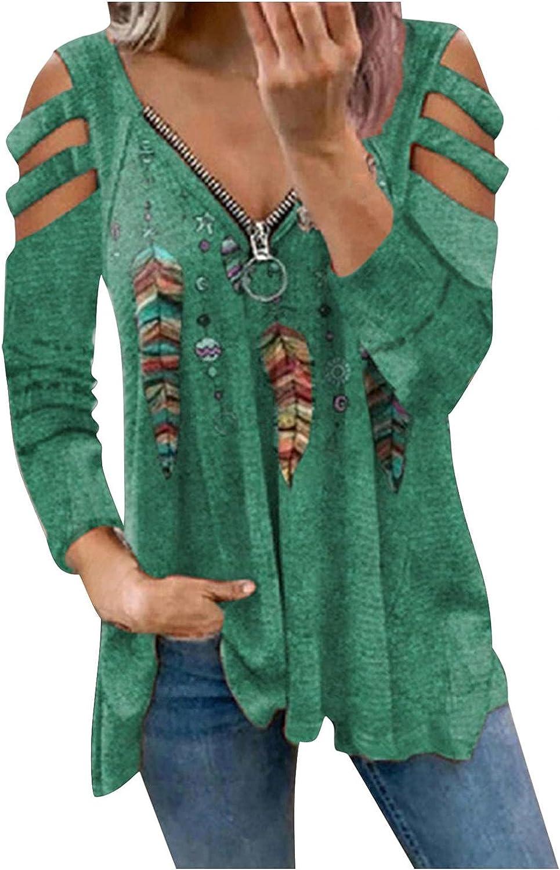 Sweatshirts for Women,Womens Zip Up Sweatshirt Aesthetic Long Sleeves Oversized Tie Dye Pullover Sweaters Shirts