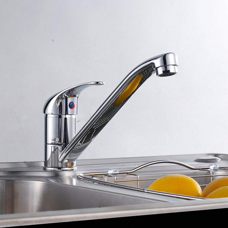 LH-Küchenarmatur:Armatur für die Küche - Einhand Ein Loch Galvanisierung Andere Ordinr Kitchen Taps