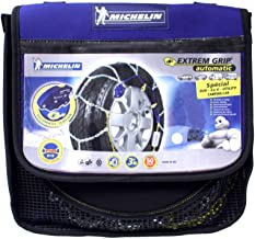 MICHELIN 007877 Cadenas para la Nieve Extrême Grip automático 4 x 4, 2 Piezas