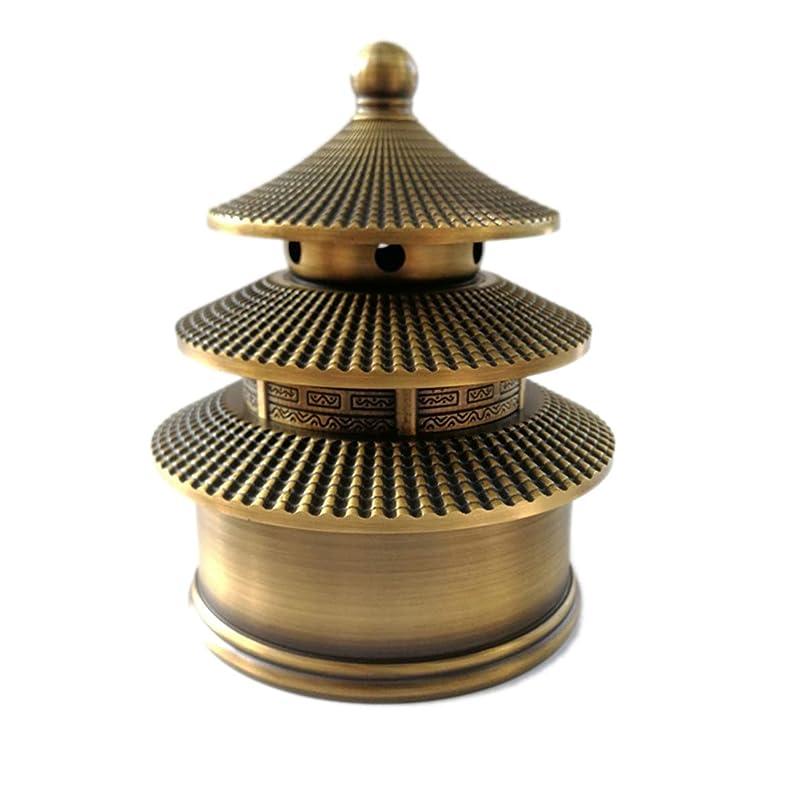 ショッキング否定する果てしない真鍮香炉(富&幸運)お香バーナー-お香ホルダーを含む中国の古典的なスタイルの伝統的な技術