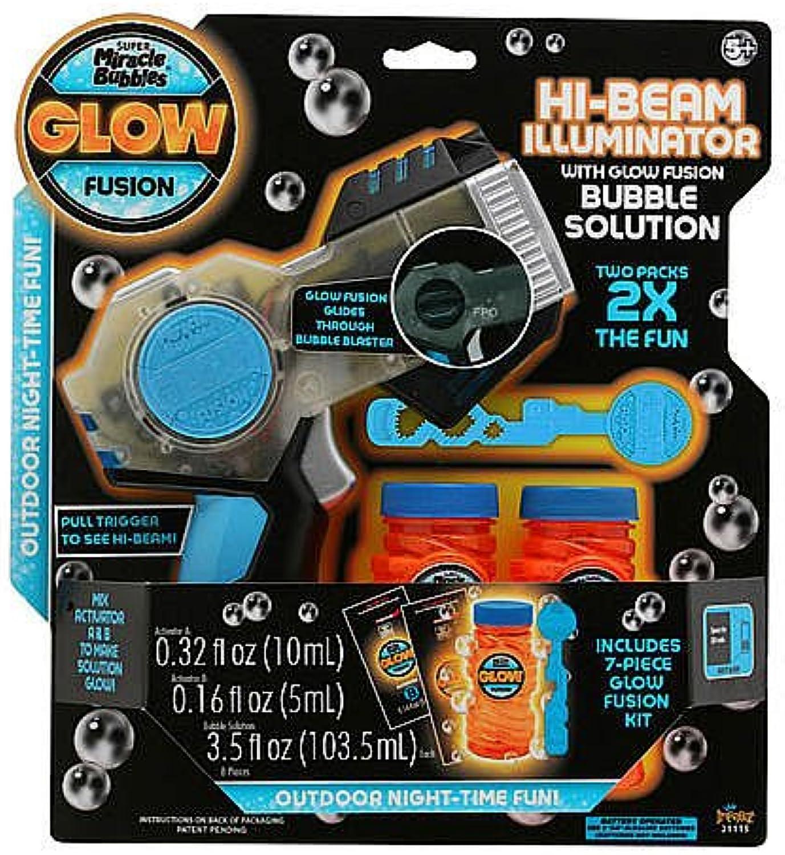 Glow Fusion HiBeam Illuminator Bubble Blaster