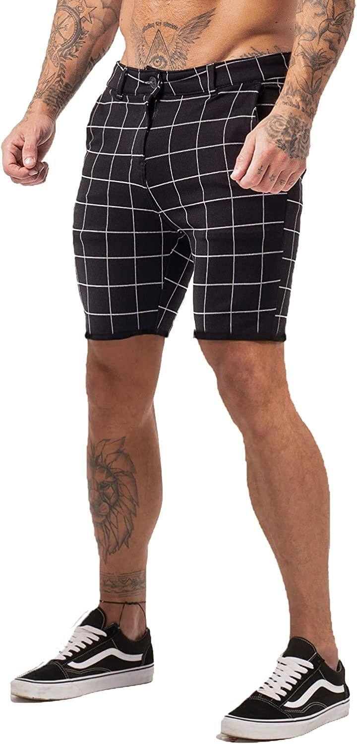Challenge the lowest price of Japan Store GINGTTO Mens Slim Fit Shorts 9