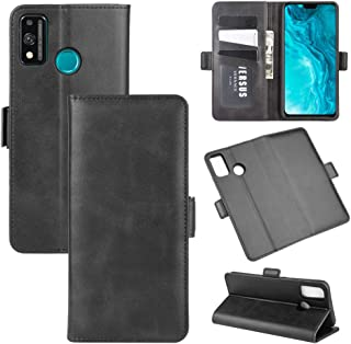 Multifunctional leather case For Huawei Honor 9X lite Dual-side Magnetic Buckle Horizontal Flip Leather Case with Holder &...