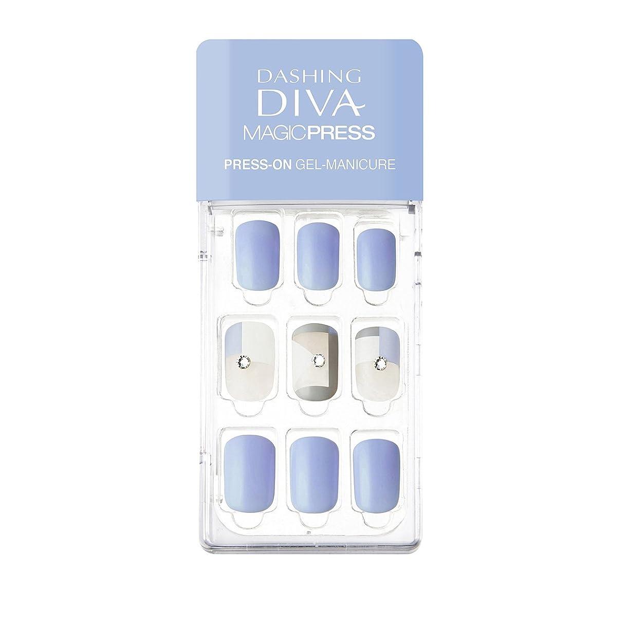 午後医学タンクダッシングディバ マジックプレス DASHING DIVA MagicPress MDR136-DURY+ オリジナルジェル ネイルチップ