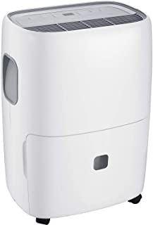 North Storm 70 Pint Portable Dehumidifier 3 Speeds-Built-in Pump-Continuous Mode Drainage, White