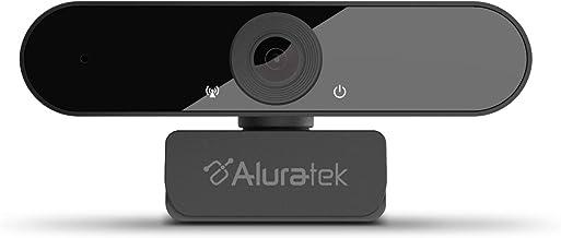 Aluratek HD 1080P Video Webcam for PC, MAC, Desktop & Laptop, Video Call, Conference, USB (AWC03F)