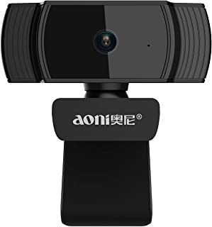 Coby Cámara Web Full HD 1080P, cámara de transmisión en Vivo Auto Focus USB con micrófono con cancelación de Ruido para re...