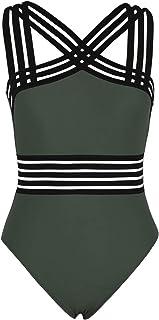 Hilor Monokinis - Bañador de una Pieza para Mujer