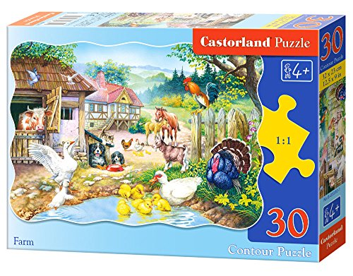 Castorland Fattoria, Puzzle 30 Pezzi