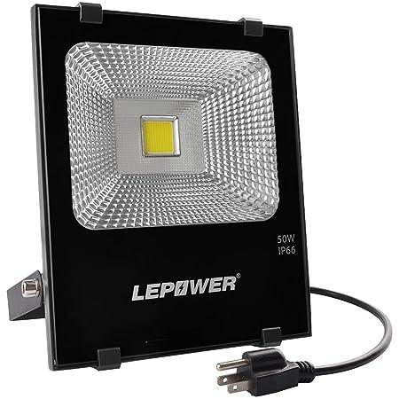 50W Led Grow Flood Light Outdoor Security Garden Yard Spotlight Lamp 220V