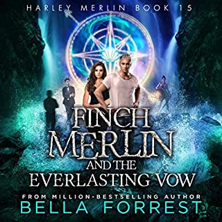 Page de couverture de Harley Merlin 15: Finch Merlin and the Everlasting Vow