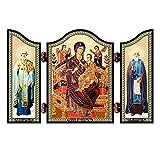 NKlaus 1448 Madre de Dios Todos los Reyes Tríptico de...