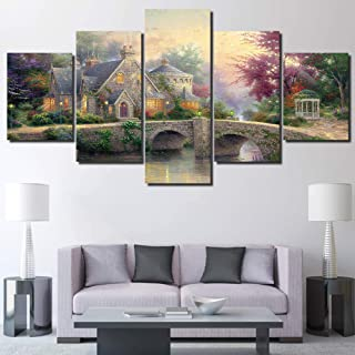 Best easy village scenery painting Reviews