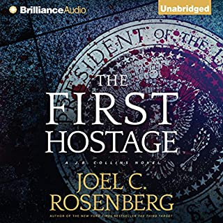 The First Hostage audiobook cover art