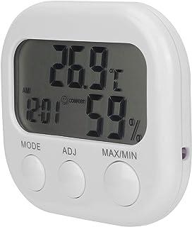 Socobeta Termo-hygrometer termometer väckarklocka digital hygrometer lätt vikt för hemmet