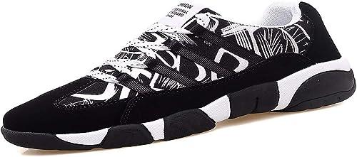 KMJBS-Chaussures De Course pour Les Sports D'été Les étudiants du Fond Plat De Chaussures Les Chaussures.Trente-Huit noir