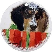 CafePress English Setter Christmas Round Holiday Christmas Ornament