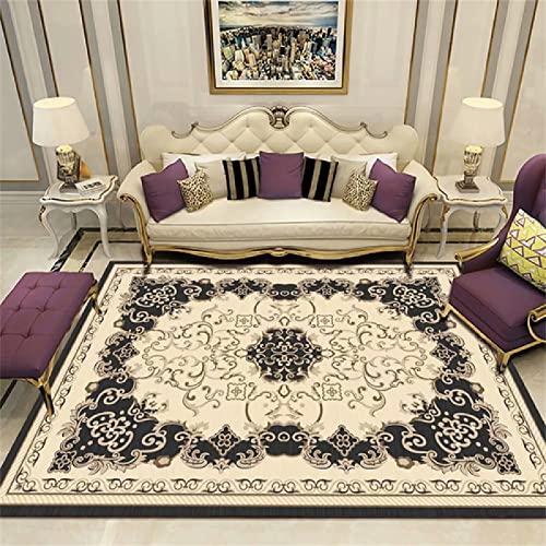tappeti bimbi cameretta Chic Stampa vintage invecchiata Tappeti Soggiorno 80X120cm colore: beige e grigio