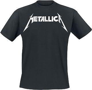 Metallica Spiked Logo Top Tirante Ancho Negro