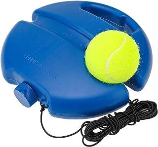 EBAT Tennis Trainer Ball,Solo Equipment Practice Training,Tennis Ball on a String,Tennis Accessories.(Blue)