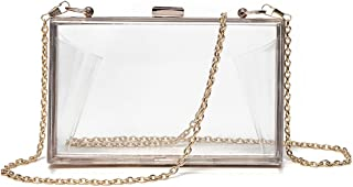 Marchome Women Acrylic Evening Clutch Handbag Shoulder Bag Cross-Body Purse
