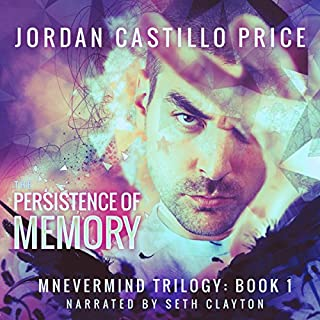 The Persistence of Memory audiobook cover art