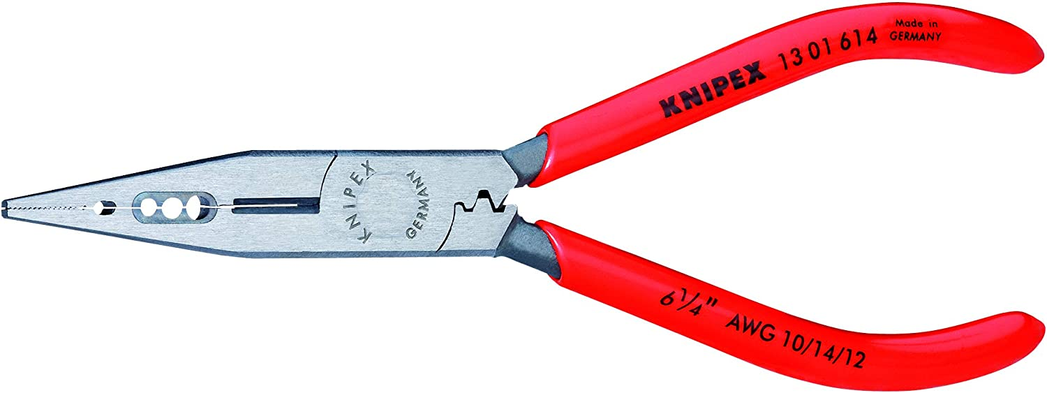 Knipex 13 Limited time cheap sale 01 614 Regular store SBA 4-In-1 6 4-Inch Pliers Electricians'