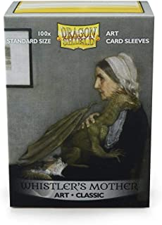 Arcane Tinmen APS ART12017 Dragon Shield Art Sleeves Classic Whistlers Mother Limited Edition Multicoloured