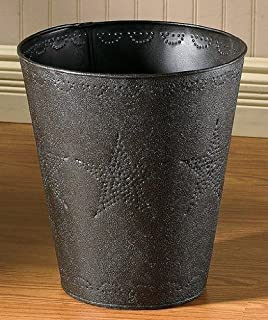 Park Designs Star Punched Tin Waste Basket