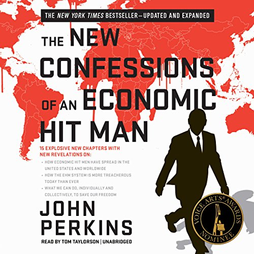 The New Confessions of an Economic Hit Man audiobook cover art