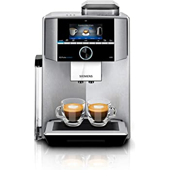 Siemens EQ.9 plus connect s500 Independiente - Cafetera (Independiente, Cafetera de filtro, 2,3 L, Molinillo integrado, 1500 W, Negro, Acero inoxidable): Amazon.es: Hogar