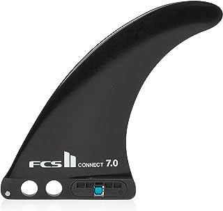 FCS II Connect GF 7.0 Longboard Fin – svart