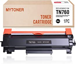 MYTONER Compatible Toner Cartridge Replacement for Brother TN760 TN730 TN-760 High Yield for HL-L2350DW HL-L2390DW HL-L2395DW HL-L2370DW DCP-L2550DW MFC-L2710DW MFC-L2730DW MFC-L2750DW (Black)