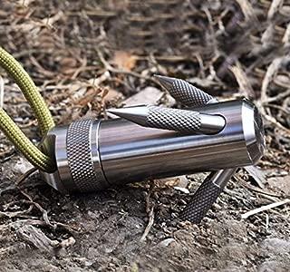 titanium capsule grappling hook container
