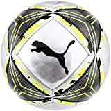 PUMA FtblNXT SPIN Youth Soccer Training Ball, size 3 (Silver-Fizzy Yellow-Black)