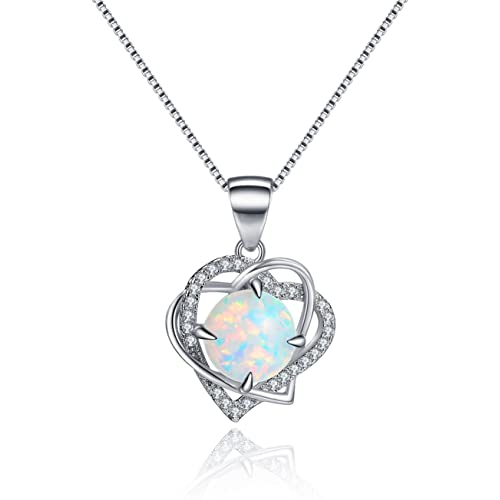 detailed look best website super cheap October Birthstone Necklace: Amazon.com