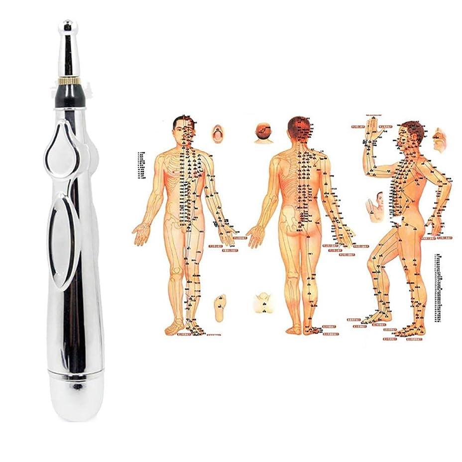 リス独裁ねばねば電子鍼ペンマッサージャー疼痛治療経絡レーザー鍼治療機