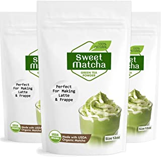 Best matcha green tea latte mix private selection Reviews